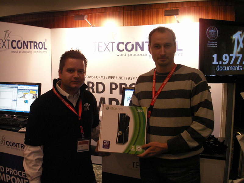 TX Text Control at Prio Conference 2010