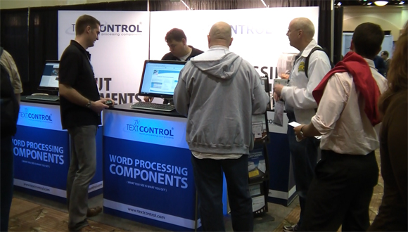 TX Text Conttol booth at DevConnections 2011