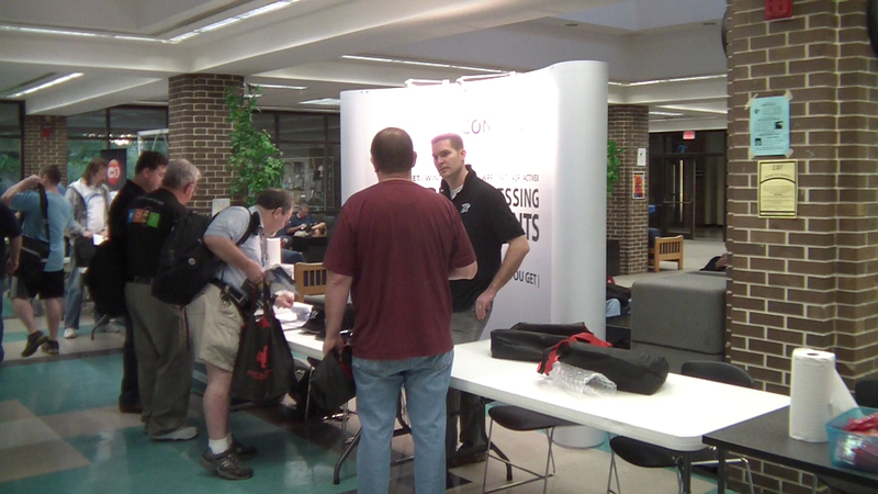 Text Control booth at Orlando Code Camp 2011
