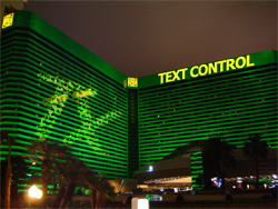 TX Text Control in Vegas at MGM Grand