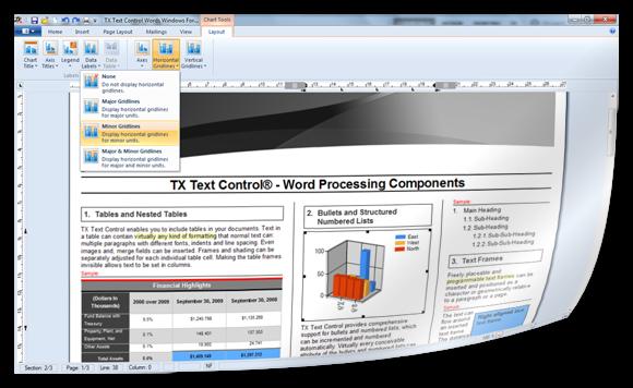 TX Text Control Reporting Designer