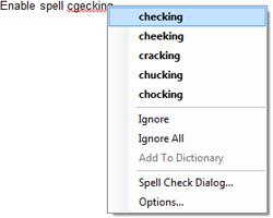 TX Spell .NET context menu
