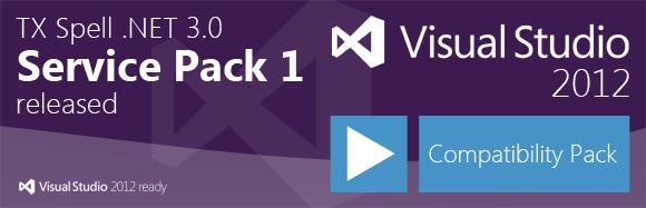 TX Spell .NET 3.0 - Visual Studio 2012 Compatibility Pack