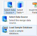 Open the data source