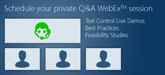 Schedule your private tutorial and Q&A WebEx session