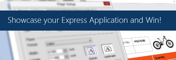 Showcase your TX Text Control Express based application