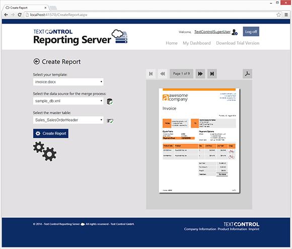Reporting Server