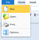 TX Text Control Web: Customize the ribbon bar