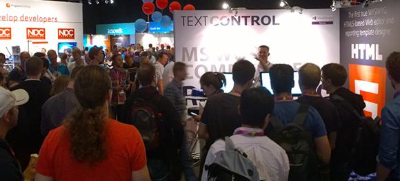 Meet Text Control at NDC London next week