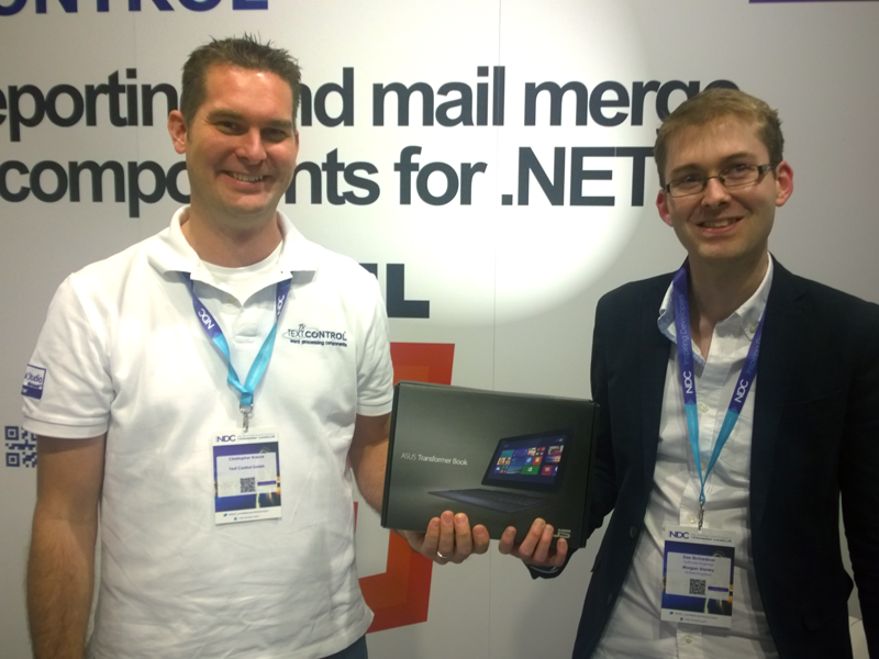 Text Control at NDC London 2014