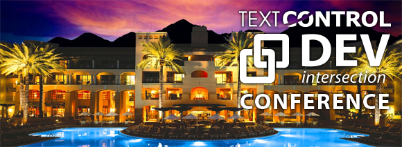 Text Control comes to the desert: DevIntersection 2015