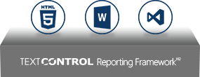 Text Control Reporting Framework