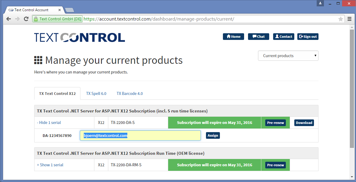 New online store and license management tool launched