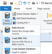 Load XML