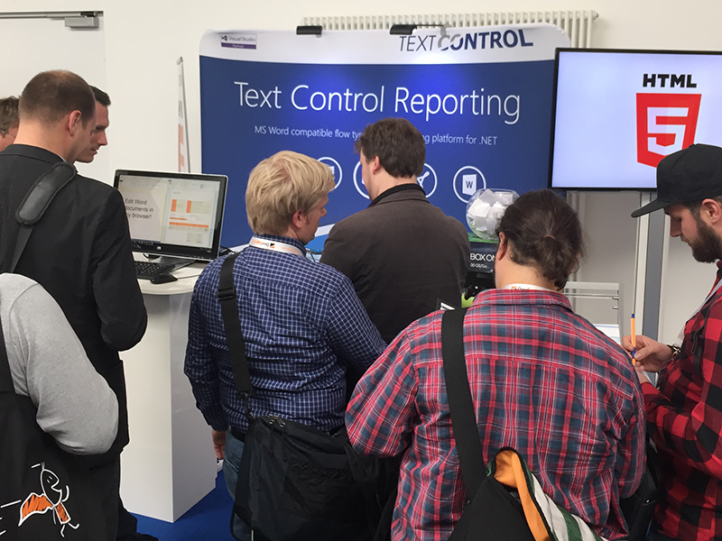 Text Control at BASTA! 2015
