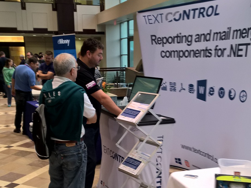 Text Control at Philly Code Camp 2015