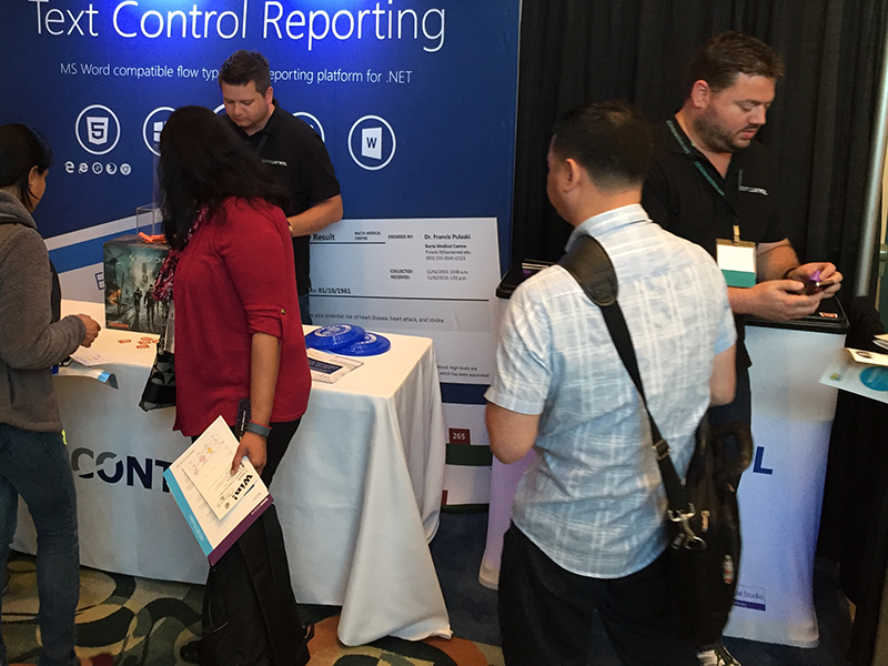 Text Control at DevIntersection 2016
