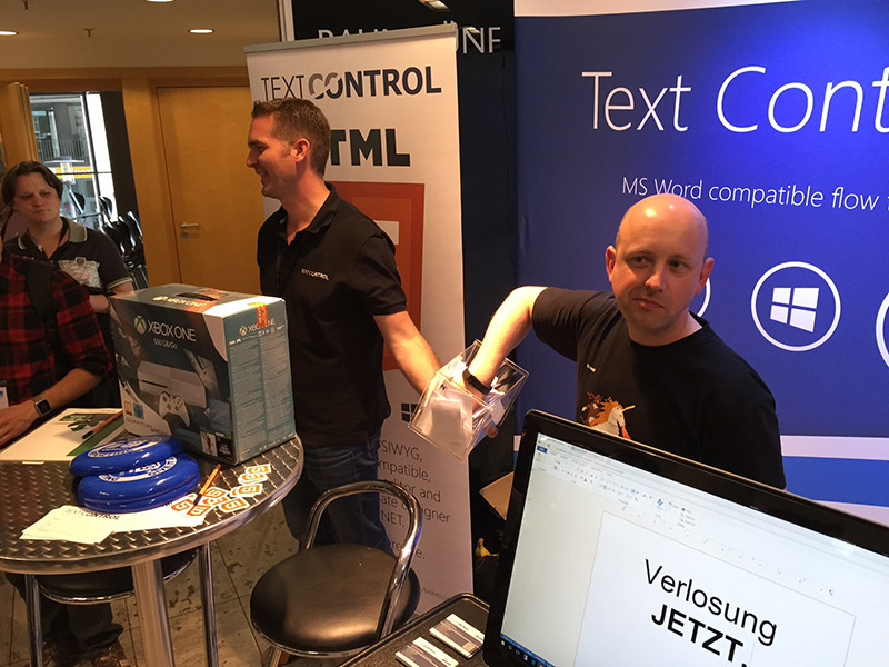 Text Control at dotnetcologne 2016