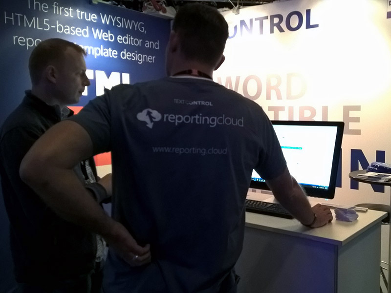 Text Control at NDC Oslo 2016