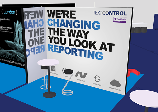 Meet Text Control as NDC London 2017