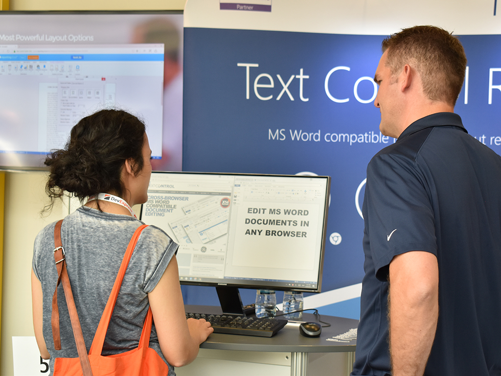 Text Control at DWX Developer Week 2017