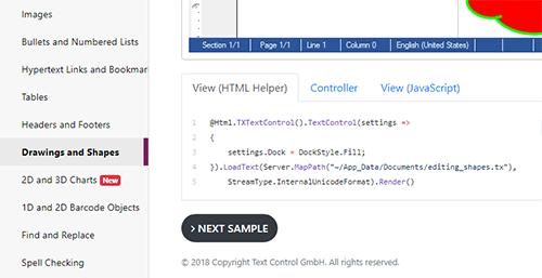 Online demo source code