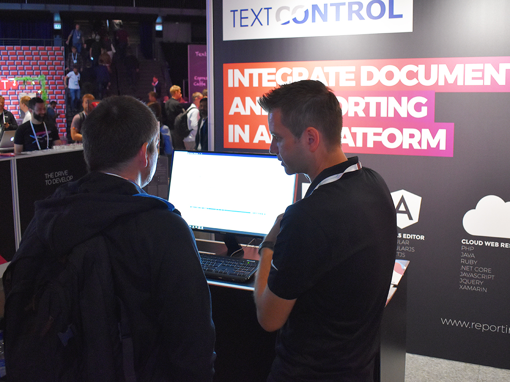 Text Control at NDC Oslo 2018