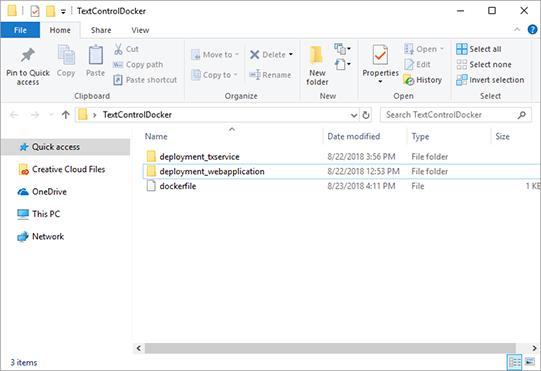Docker folders