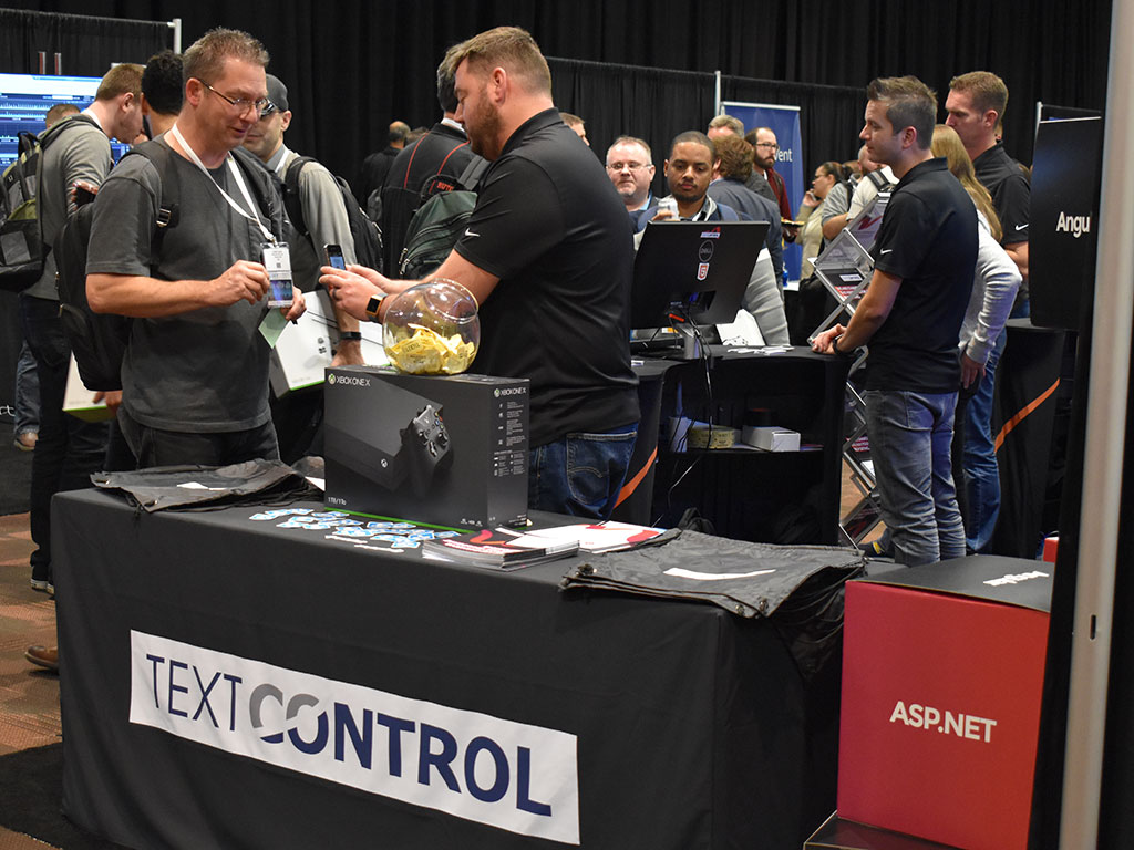 Text Control at DevIntersection 2018