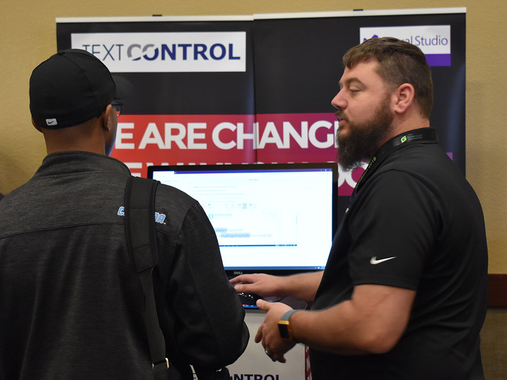 Text Control at TechBash 2019