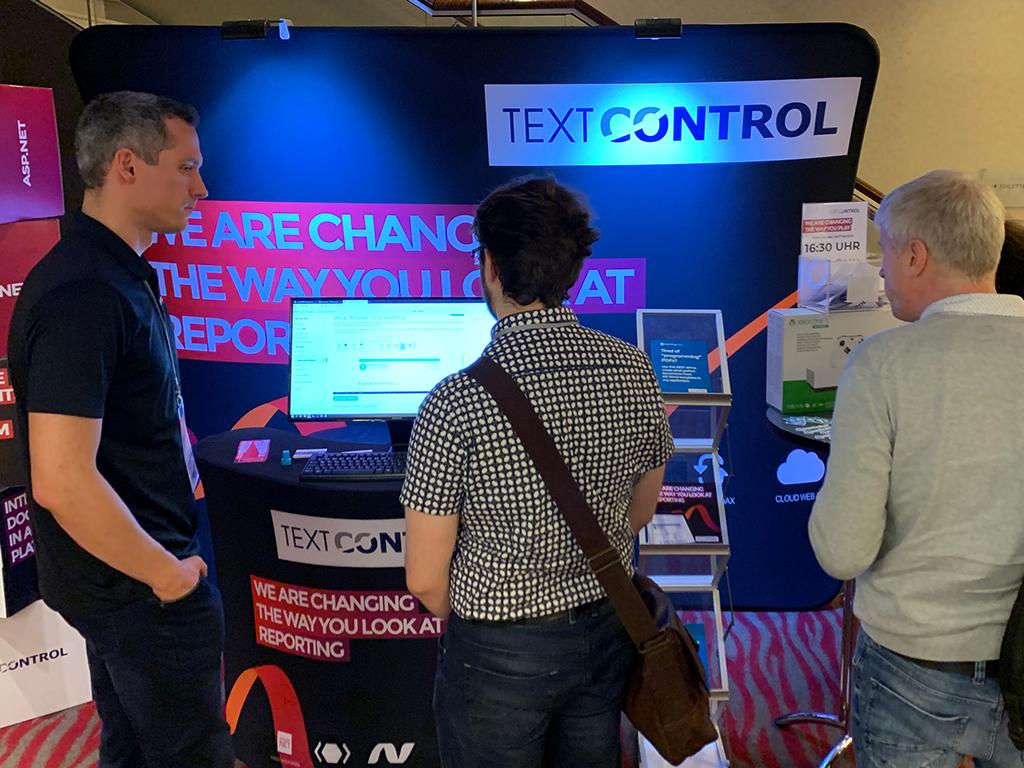 Text Control at DDC 2019