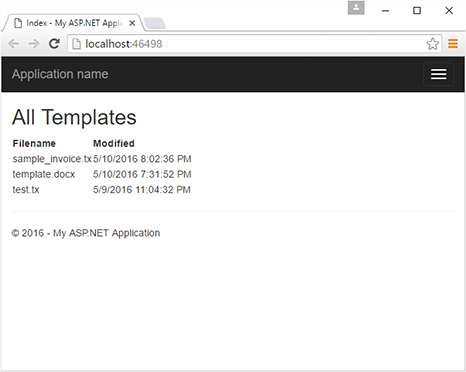 Getting started with Text Control ReportingCloud and the .NET Wrapper