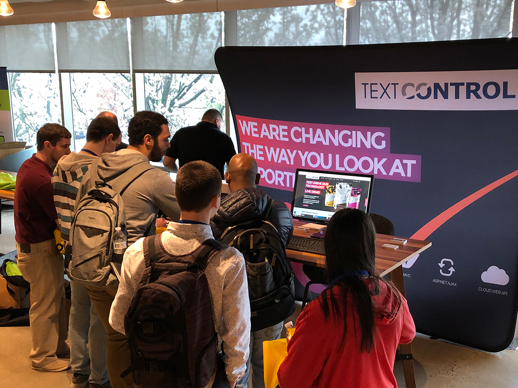Text Control at Philly Code Camp 2019