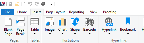 MS Word Look and Feel