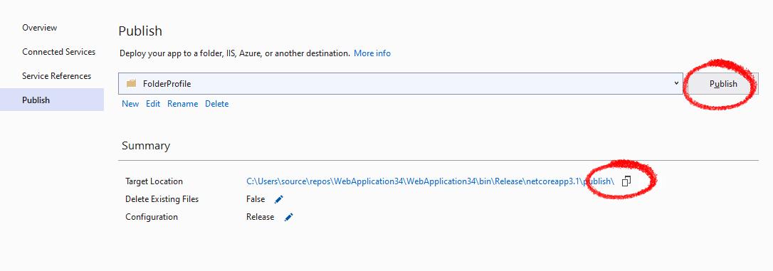 Creating the Web API