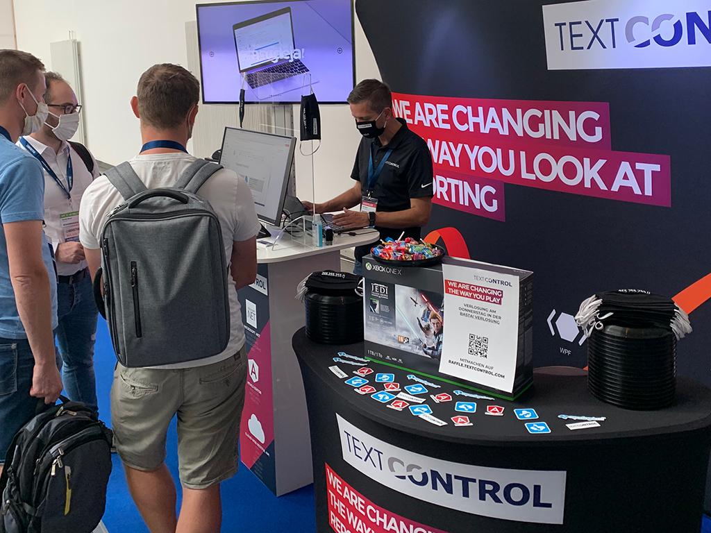 Text Control at BASTA! 2020