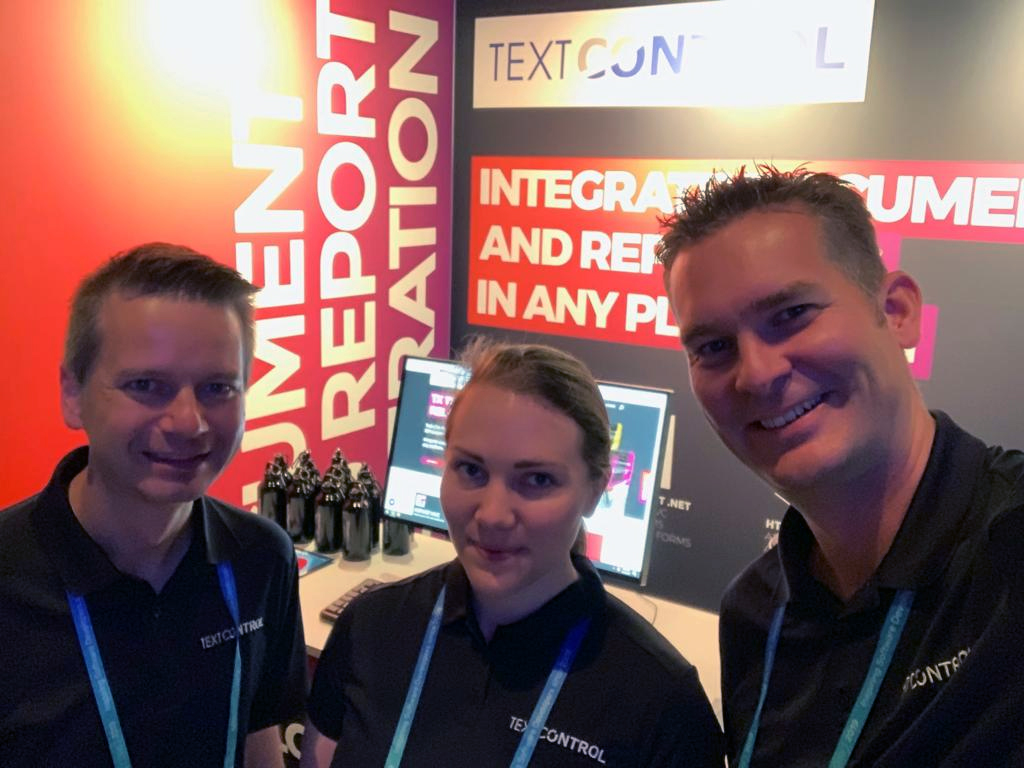 TX Text Control Conference Team