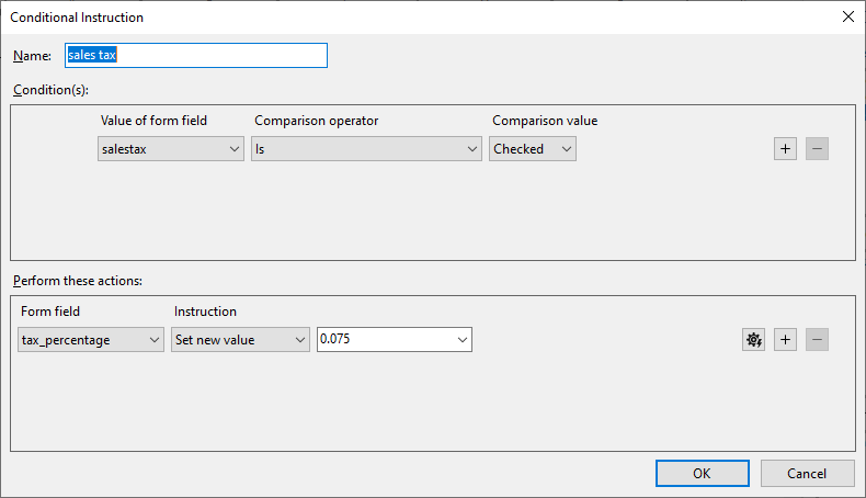 Formula in Text Control